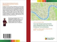 Capa do livro de Uso do Geoprocessamento para Mapeamento das Áreas Urbanas Consolidadas