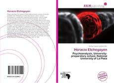 Bookcover of Horacio Etchegoyen