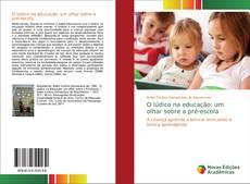 Portada del libro de O lúdico na educação: um olhar sobre a pré-escola