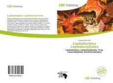 Portada del libro de Leptodactylus Leptodactyloides