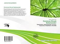 Corsican Brook Salamander kitap kapağı