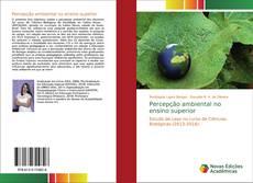 Buchcover von Percepção ambiental no ensino superior