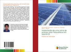 Bookcover of Implantação de uma usina de energia solar fotovoltaica em Sobral-CE
