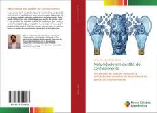 Обложка Maturidade em gestão do conhecimento