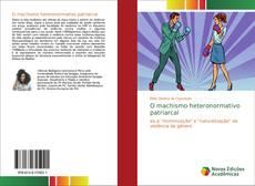 Portada del libro de O machismo heteronormativo patriarcal