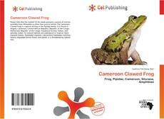 Buchcover von Cameroon Clawed Frog