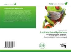Portada del libro de Leptodactylus Mystacinus