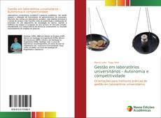 Capa do livro de Gestão em laboratórios universitários - Autonomia e competitividade