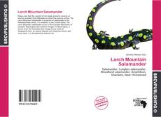 Bookcover of Larch Mountain Salamander