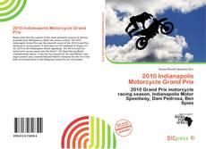 Capa do livro de 2010 Indianapolis Motorcycle Grand Prix