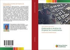 Capa do livro de Elaboração e Análise de Projetos de Investimento