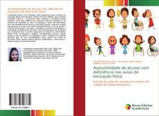 Capa do livro de Acessibilidade de alunos com deficiência nas aulas de educação física
