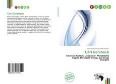 Buchcover von Carl Gersbach