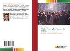 Buchcover von Violência de gênero e saúde mental