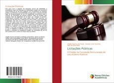 Capa do livro de Licitações Públicas