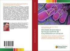 Couverture de Atividade de biocidas e formação biofilme de Corynebacterium striatum