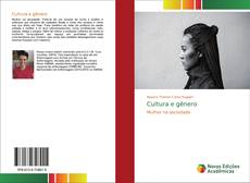 Обложка Cultura e gênero