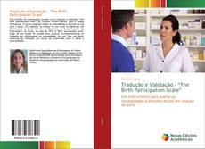 """Portada del libro de Tradução e Validação - """"The Birth Participation Scale"""""""