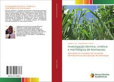 Portada del libro de Investigação térmica, cinética e morfológica de biomassas: