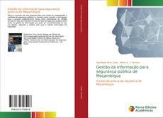 Bookcover of Gestão da informação para segurança pública de Moçambique