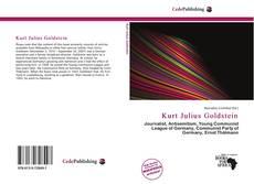 Bookcover of Kurt Julius Goldstein
