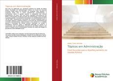 Capa do livro de Tópicos em Administração