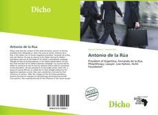 Antonio de la Rúa kitap kapağı