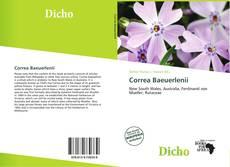Capa do livro de Correa Baeuerlenii
