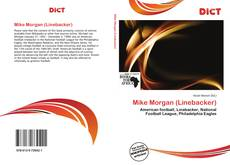 Capa do livro de Mike Morgan (Linebacker)