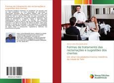 Bookcover of Formas de tratamento das reclamações e sugestões dos clientes