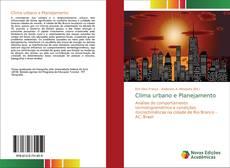Capa do livro de Clima urbano e Planejamento