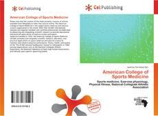 American College of Sports Medicine kitap kapağı