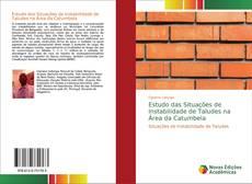 Capa do livro de Estudo das Situações de Instabilidade de Taludes na Área da Catumbela
