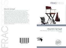 Capa do livro de Alejandro Springall