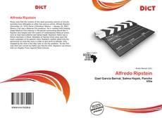 Buchcover von Alfredo Ripstein