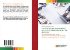 Capa do livro de Planejamento e desempenho nas Universidades Federais do Nordeste