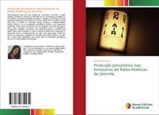 Capa do livro de Produção Jornalística nas Emissoras de Rádio Públicas de Joinville