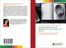 Capa do livro de Atuação Profissional de Egressos de Licenciatura em Música