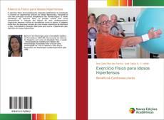 Portada del libro de Exercício Físico para Idosos Hipertensos