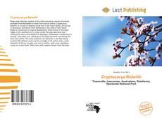 Bookcover of Cryptocarya Bidwillii