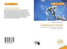 Обложка Cryptocarya Floydii