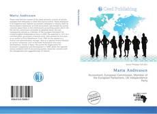 Portada del libro de Marta Andreasen