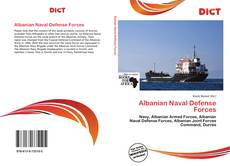 Capa do livro de Albanian Naval Defense Forces