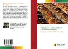 Portada del libro de Práticas de Letramento em Contexto Quilombola