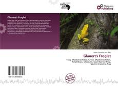 Bookcover of Glauert's Froglet