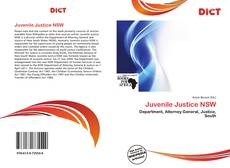 Bookcover of Juvenile Justice NSW