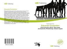 Capa do livro de Eduardo Costantini