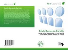 Capa do livro de Estela Barnes de Carlotto