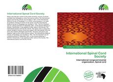International Spinal Cord Society kitap kapağı