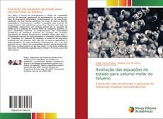 Capa do livro de Avaliação das equações de estado para volume molar do tolueno